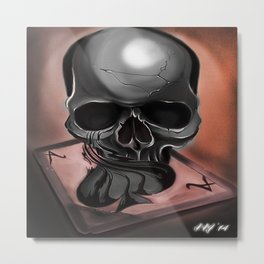 Ace of Spades #1 Metal Print