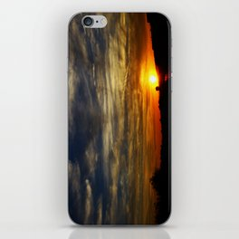 Colorful sunset iPhone Skin