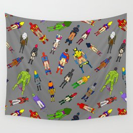 Butt of Superhero Villian - Dark Wall Tapestry