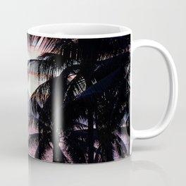 Pink Tahiti Sunset Over Moorea Coffee Mug