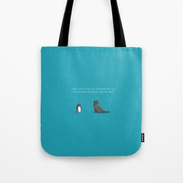 Sealing the deal Tote Bag