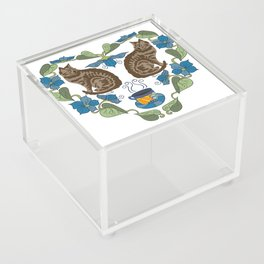 Coffee and Cats Acrylic Box