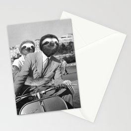 Sloth in Roman Holiday Stationery Cards