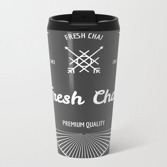 Fresh Chai No.2 Metal Travel Mug