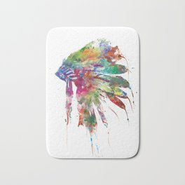 Headdress Bath Mat