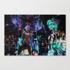 Robot Girl Canvas Print