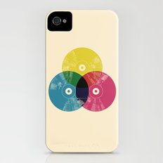 Music is the colors of life iPhone (4, 4s) Slim Case