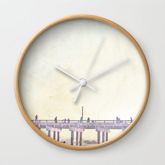 California Dreamin' in NY Wall Clock
