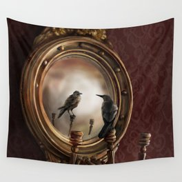 Brooke Figer - Reflection on Perception Wall Tapestry