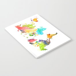 Watercolor World Notebook