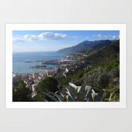 salernbo e la sua costa Art Print