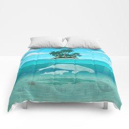 Manatee Island Comforters