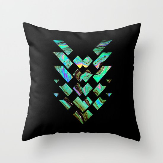 Tri Punch Fitted Throw Pillow