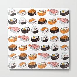 Sushi family Metal Print