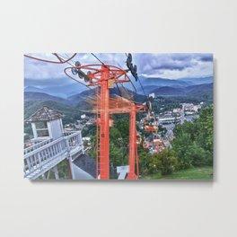 Skyway Metal Print