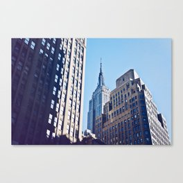 An Empire Through The Trees Canvas Print