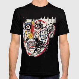 Basquiat Crazy Head T-shirt