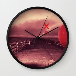 Upwards Wall Clock