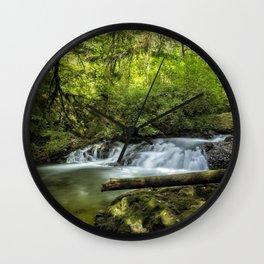 North Fork Silver Creek, No. 2 Wall Clock
