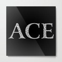 Ace of Spades - Variant Metal Print