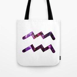 Galactic Aquarius Tote Bag