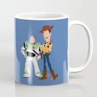toy story Mugs featuring toy story by Live It Up