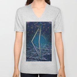 Mystic Triangle Unisex V-Neck