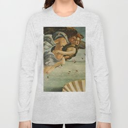 "Sandro Botticelli ""The Birth of Venus"" 3. Zephyr and his companion Long Sleeve T-shirt"