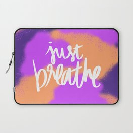 Just Breathe Laptop Sleeve