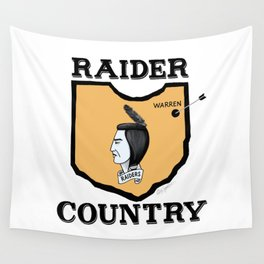 Raider Country Wall Tapestry