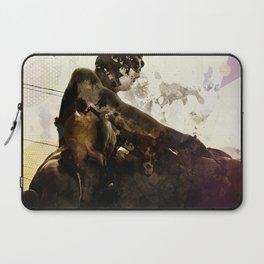 Black idol Laptop Sleeve