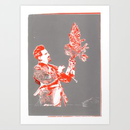 For asme with love and squalor Art Print