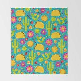 Taco Garden Throw Blanket