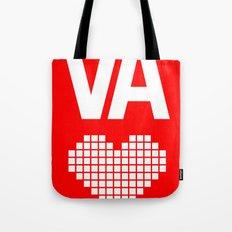 Virginia Love Tote Bag