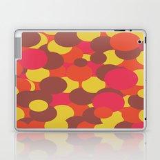 Autumn Retro Circles Design Laptop & iPad Skin