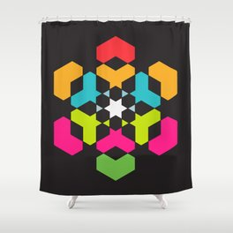 hexeosis5c Shower Curtain