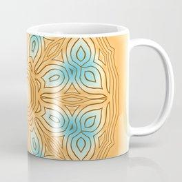 Sea Beach Summer Kaleidoscope Abstract Pattern Coffee Mug