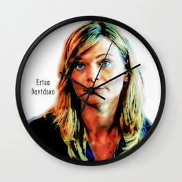 Erica Davidson Wall Clock