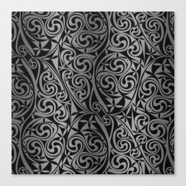 Celtic Warlord titanium Canvas Print