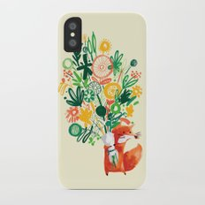 Flower Delivery iPhone X Slim Case