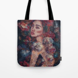 Beauty in the flowers Tote Bag