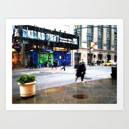 SNOW | 02 Art Print
