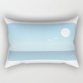 Choppy Waves Rectangular Pillow