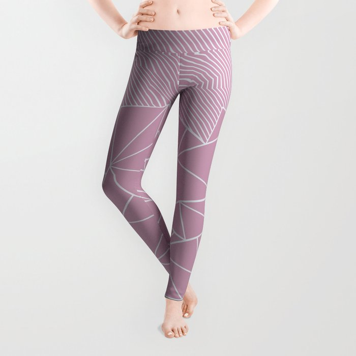 Ab Lines 45 Pink Leggings