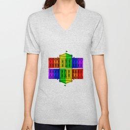 Celebrate Marriage Equality Unisex V-Neck