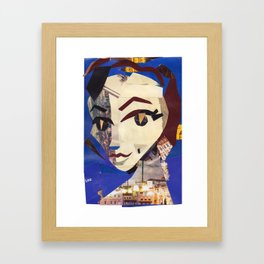 Eartha Kitt #PrideMonth Collage Portrait Framed Art Print