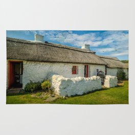 Cottage In Wales Rug
