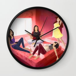 The Gossip Sessions Wall Clock