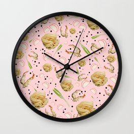 Tempura Udon Wall Clock