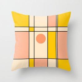 Abstraction_NEW_BAUHAUS_POP_ART_Minimalism_001A Throw Pillow